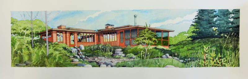 Mid-Century Modern House - Madison, WI, commission by owner